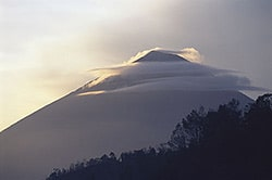 Sunrise Agung mountain
