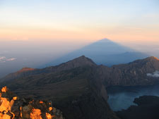 sunrise view Mt Rinjani
