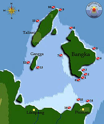 Bangka dive sites
