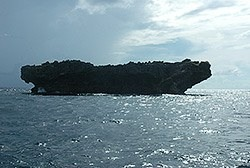 Batu kapal it is all in the name - ship rock