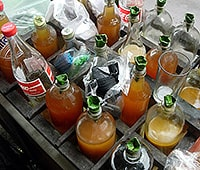 jamu sold on the street